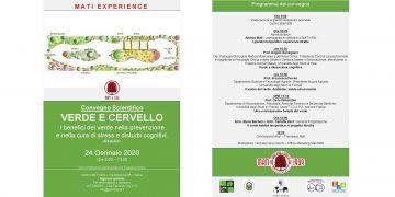 VERDE E CERVELLO – I benefici del verde nella prevenzione e nella cura di stress e disturbi cognitivi